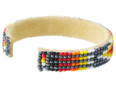 single bead bracelet chan luu aztec seed bead small single bracelet in silver