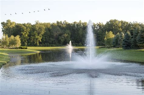 large farm pond aeration fountain aerators supply stores