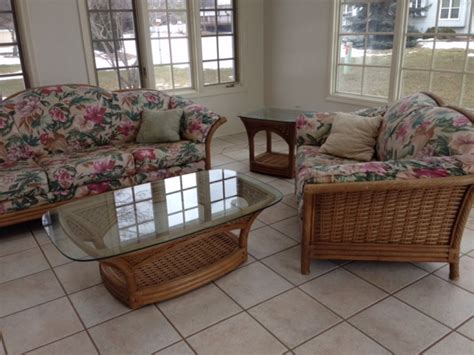 wicker sofa sale wicker sofas for sale 187 stick wicker sofa and chair for