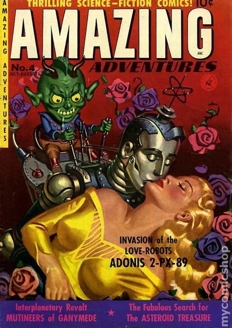 Amazing Adventures amazing adventures 1950 ziff davis comic books