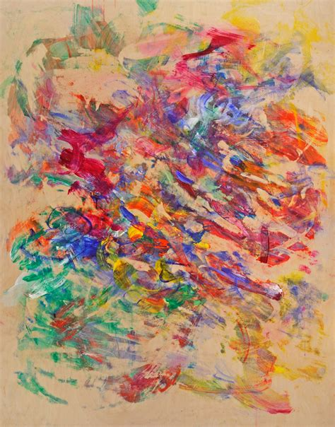 painting of gestural painting abstract critical