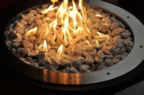 feuerstellen mit gas glammfire feuerstelle mime gas