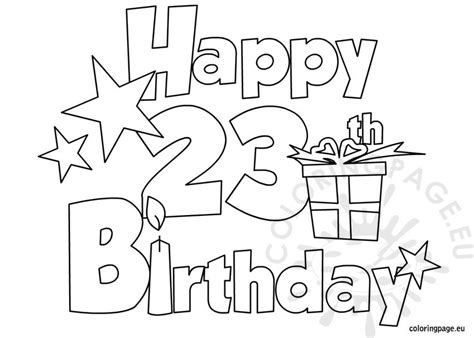 happy 4th birthday coloring pages search results