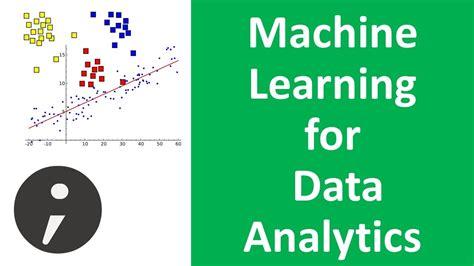 Machine Learning Mba by Machine Learning For Data Analytics Intro Data Analytics