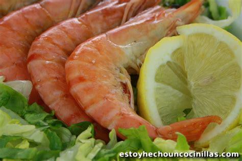 comment cuisiner les crevettes comment cuire les crevettes ou les gambas