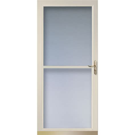Larson Screen Doors by Shop Larson Tradewinds Almond View Tempered Glass