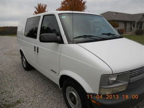 chevrolet astro cargo for sale by owner buy used 1999 chevy astro cargo one owner in bryan