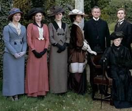 enchanted serenity of period films period fashion of edwardian era downton abbey