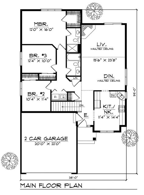 home design floor plans ranch small home with 3 bdrms 1448 sq ft house plan 101 1388