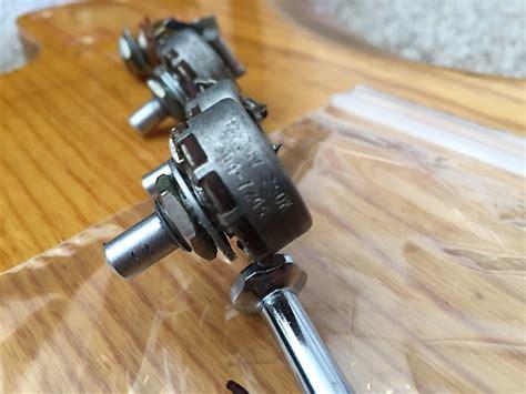jazz guitar tone capacitor fender jazz bass guitar pots set potentiometers volume tone reverb