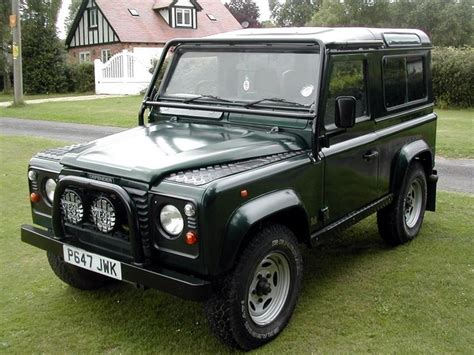 range rover dark green 1996 land rover defender 90 green dark british racing
