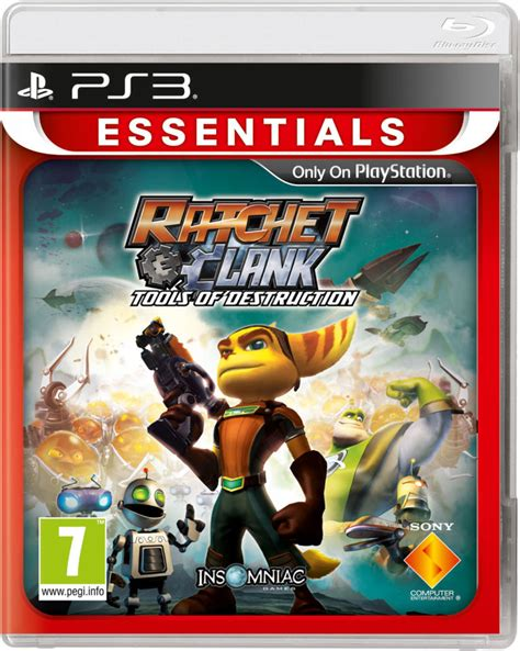 Bd Ps3 Ratchet And Clank Collection ratchet and clank tools of essentials ps3