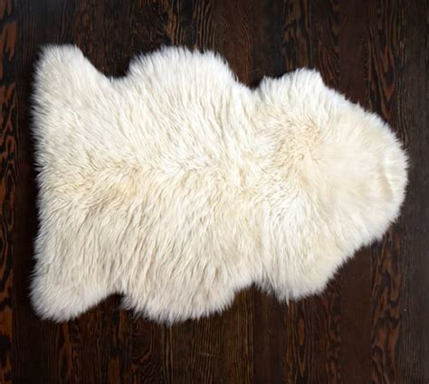 Pottery Barn Sheepskin Rug sheepskin rug pottery barn