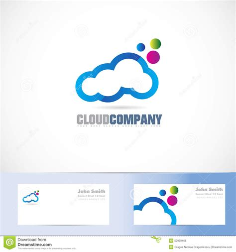 cloud 9 logo color cloud colors logo design stock vector illustration of cloud 53939468
