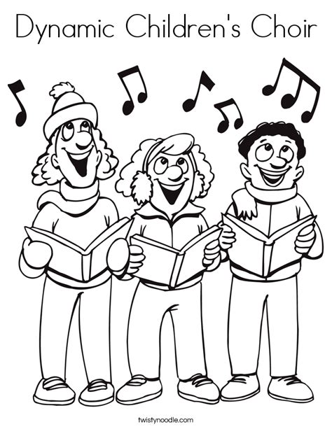 music dynamics coloring pages dynamic children s choir coloring page twisty noodle
