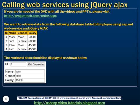 tutorial web net sql server net and c video tutorial calling asp net
