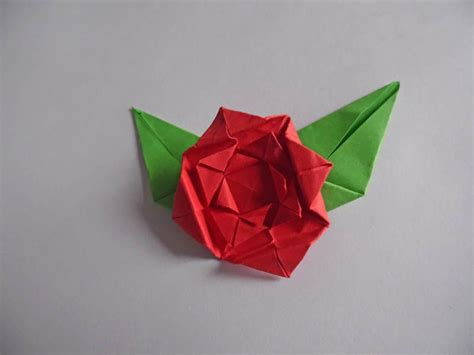 Really Easy Origami Flower - how to make an easy origami