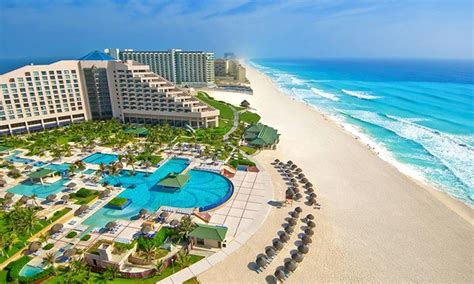 all inclusive stay at iberostar cancun with airfare from vacation express in groupon getaways
