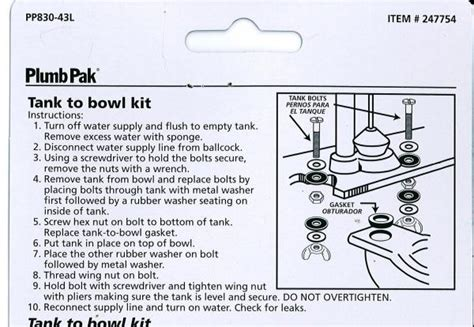 How Do You Install A Kitchen Faucet toilet tank leaks at right bowl to tank bolt