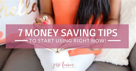 7 Tips On Saving Money by 7 Tips For Saving Money Right Now Fearon