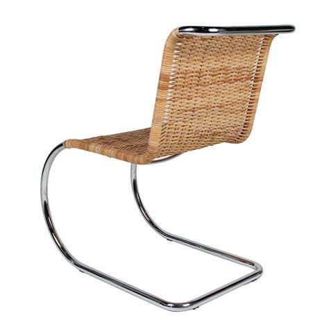 sedie in midollino sedia mr in midollino m der rohe novecento