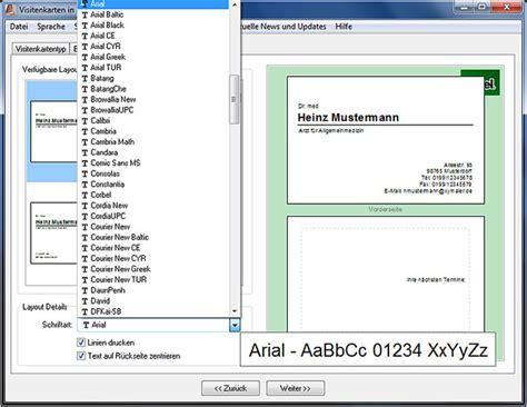 Visitenkarten Design Vorlagen Kostenlos Windows Visitenkarten In 2 Minuten
