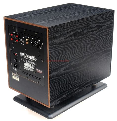 polk audio psw  active subwoofer camaross audio hifi