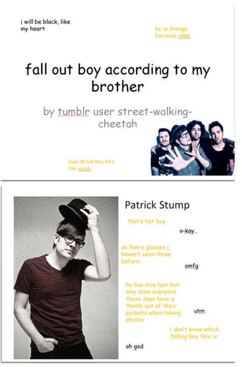 Fall Out Boy Memes - fall out boy