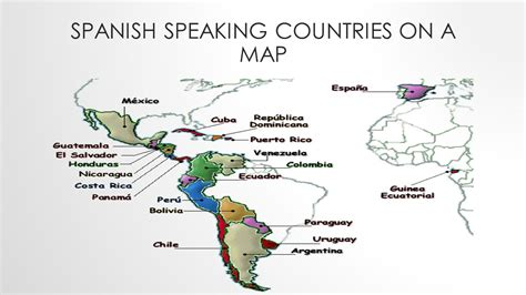 speaking countries map ms paz our s catholic academy