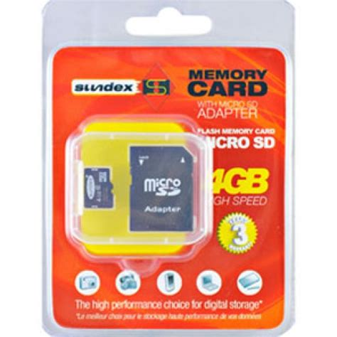 Micro Sd Card 4gb V Adapter memory card microsd 4gb adapter pc kuma cz