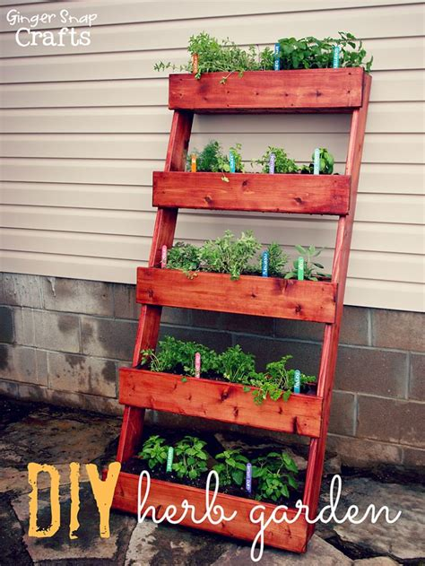herb planter diy diy herb garden tutorial