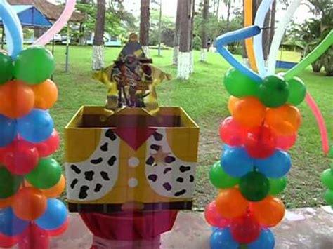 imagenes fiesta vaquera infantil globo fiesta una fiesta sin decoraci 243 n es una simple