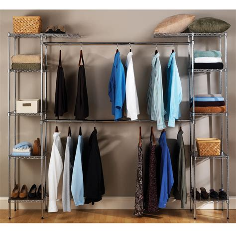 closet amazon amazon com seville classics expandable closet organizer