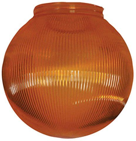 Polymer Products 3216 51630 Orange Replacement Globe For Globe String Lights For Sale