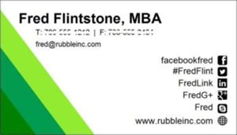Do I Need Business Cards As An Mba by Put Your Mba Into Your Work Not Your Title Planning