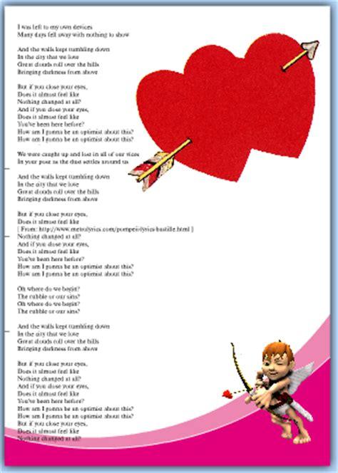 lettere per san valentino canzone ascoltata in radio identificazione canzoni