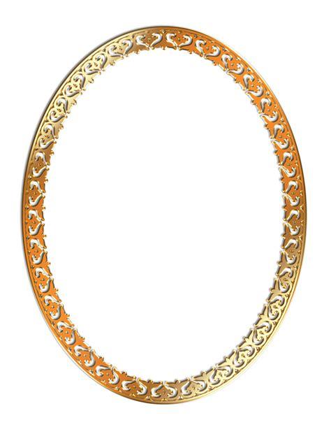 transparent oval frames golden photo frame png transparent image pngpix