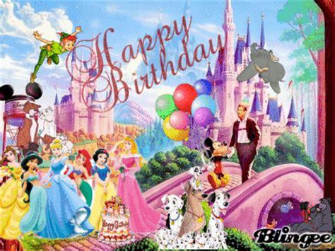 disney happy birthday images happy birthday walt disney picture 125103991 blingee