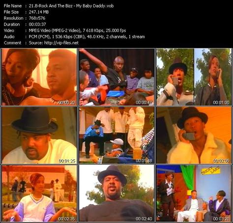 b rock and the bizz b rock and the bizz video vob 171 my baby daddy 187 high dvd