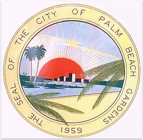 City Of Palm Gardens by City Seal Of Palm Gardens