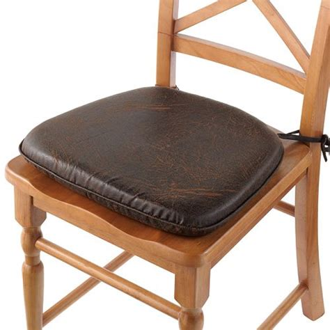 Leather Chair Cushion by Matching Products