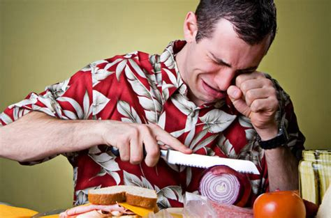 No More While Chopping Onions by Why Do You Cry When Chopping Onions No It S Not