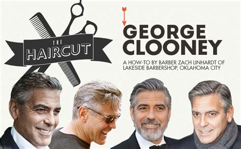 Clooney Contour Mens Haircut | the haircut george clooney primer