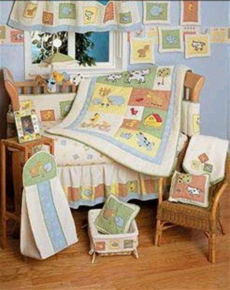 farm crib bedding farm animal baby bedding ebay