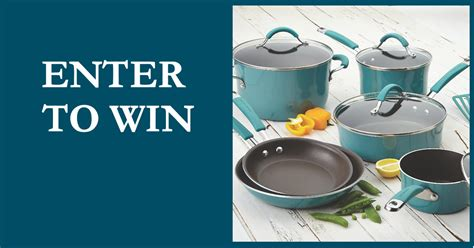 Rachael Ray Com Giveaways - winner announced win a rachael ray cookware set free