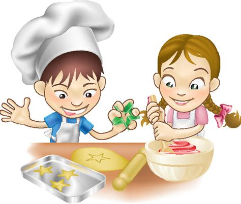 baking clipart cook pencil and in color baking clipart cook