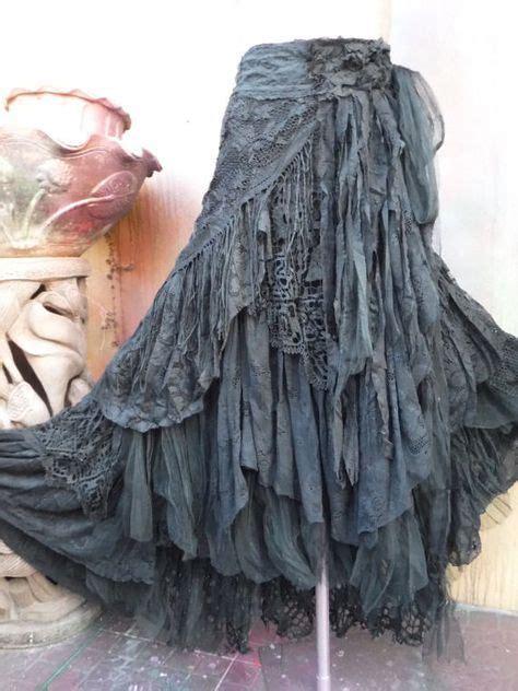 bohemian skirt ideas  pinterest boho skirts