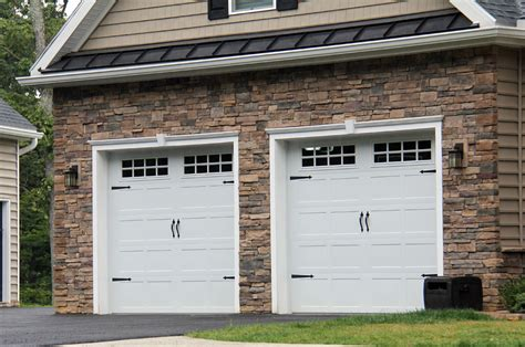 9x8 Insulated Garage Door by Carriage Doors Sted Steel Mount Garage Doors