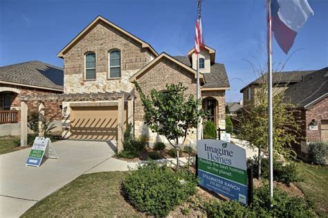 imagine homes in stillwater ranch san antonio