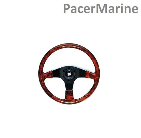 second hand hydraulic boat steering corsica boat steering wheel 350mm mechanical hydraulic